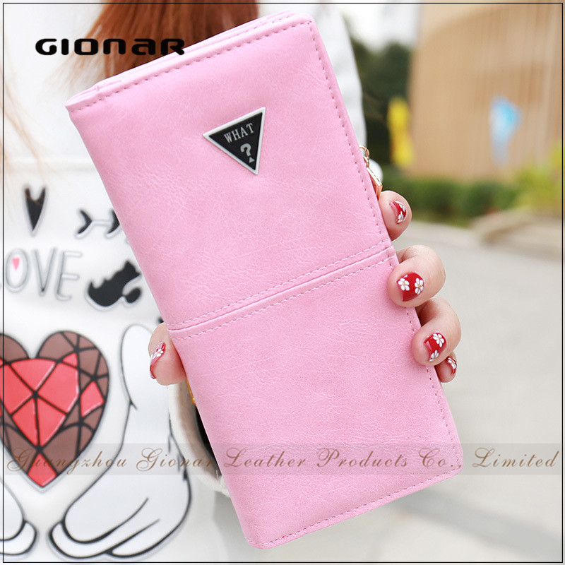 Multi Card Slots Zipper Pocket Purse Case PU Leather Wallet for Iphone