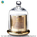 yufeng Electroplate Glass Candle dome jar yufengcraft www.yufengcraft.cn