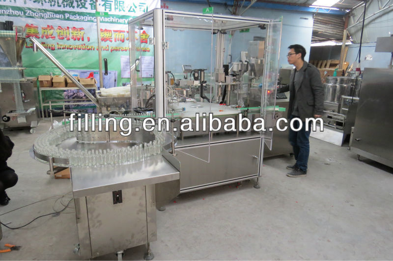 SGGNX-III automatic nail gel filling and capping machine