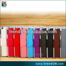 magnet button card slots wallet leather case for ipad air