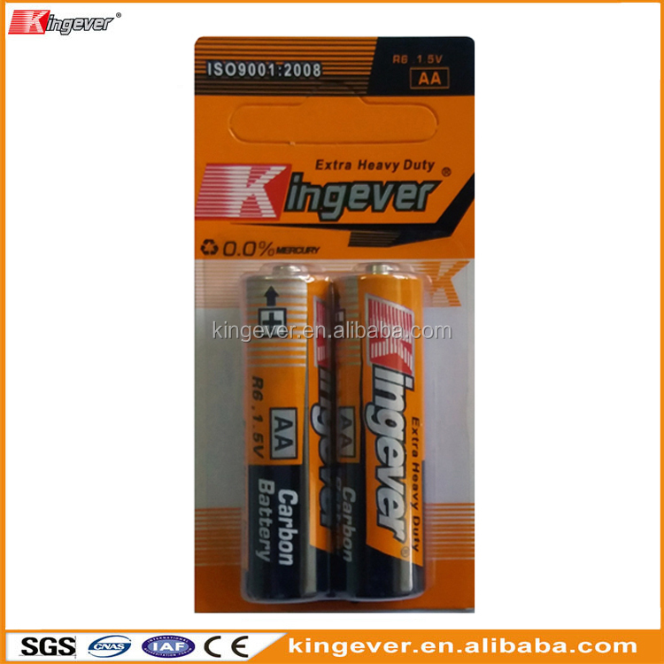 1.5V AA UM-3 R6P carbon zinc dry cell battery