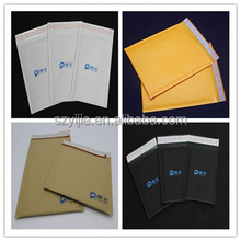 Kraft paper bubble envelope postage recycleable bag,bubble padded mailer bags