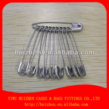 High quality safety silver color pin