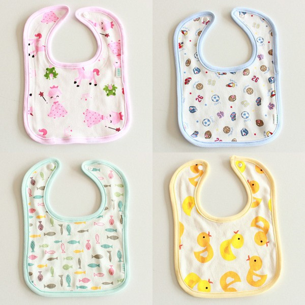 Plain Baby Bib/Terry Cloth Baby Bib/Cheap Baby Bibs