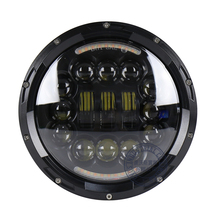 Factory price OVOVS Round 7 inch 60w high low beam led car headlight for J-eep wrangler JK in auto parts