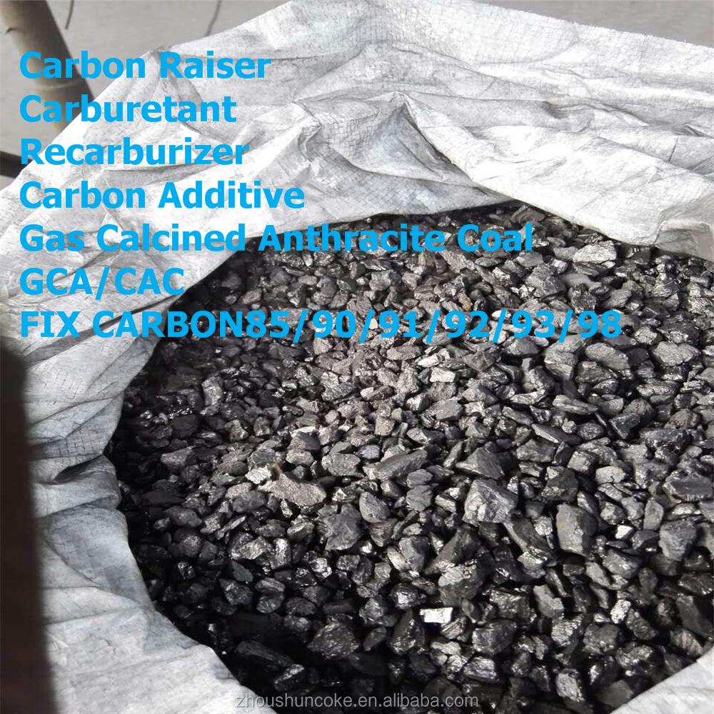 Top Quality Gas Calcined Anthracite/Carbon Raiser --Wanboda Brand