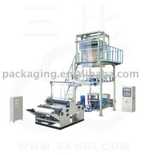 Small Production Plastic Film Blowing Machine