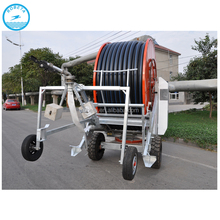Hose reel irrigation system /big rain gun traveling irrigator for sale