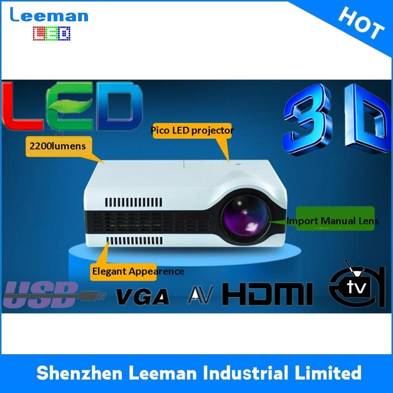cheap full hd stress relief toy low power consumption led lcd projector