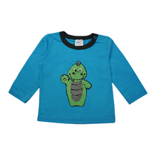 Belle Tour Applique Serpent Motif Ras Du Cou Bébé Sweat