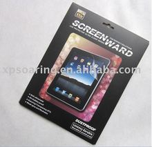 Mirror fingerprint proof screen protector film for ipad