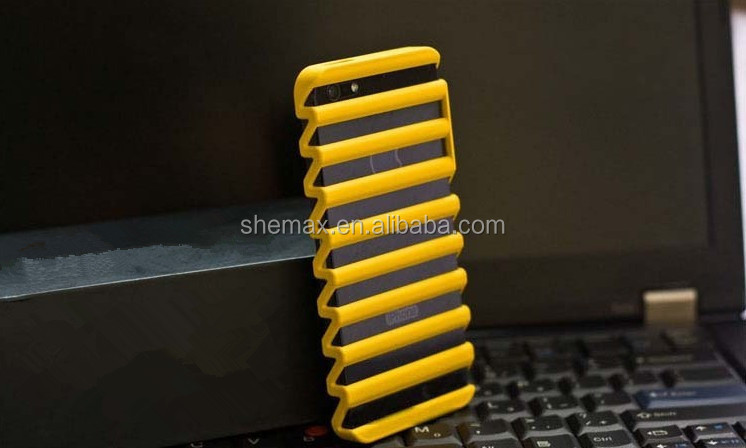Striped Mesh Hollow Waves Ladder for iPhone 5 5S Protective Case