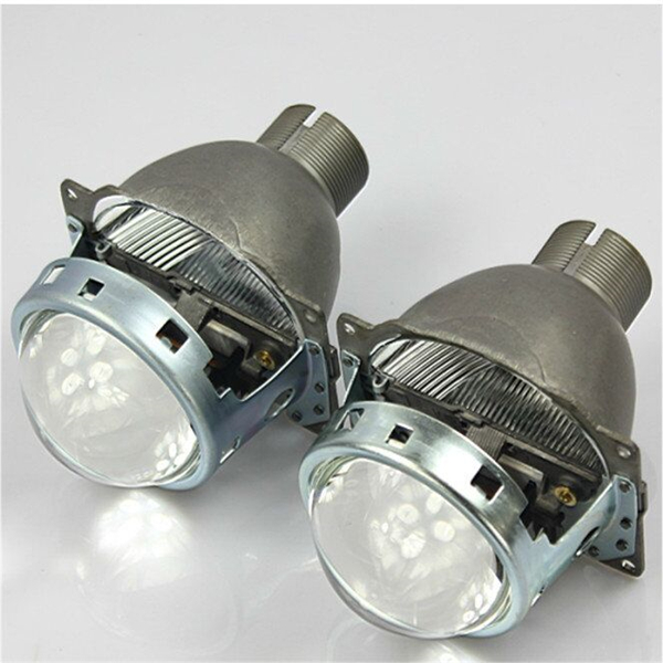 China factory D2S 2.5 inch bi xenon projector lens bi-xenon hid projector lens light angel eyes