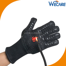 932F Extreme Silicone Forearm Protective Fire Pit Oven Mitt Baking Kitchen Cooking Heat Resistant Grill BBQ Gloves