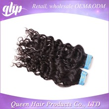 QHP 10A grade water wave 100% wholesale raw virgin unprocessed brazilian human hair