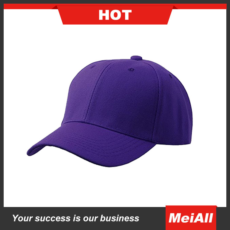 soft textile custom cotton baseball cap embroidered