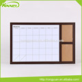 China supplier calendar printed white memo board for sale
