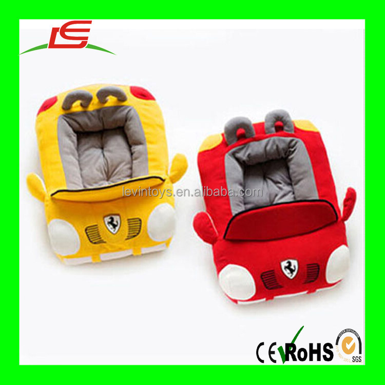 luxury cute washable soft car shaped pet house dog bed sofa