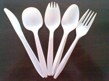 eco-friendly disposable plastic cutlery,PP material disposable plastic cutlery set