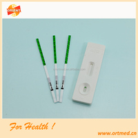 urine pregnancy test strip/home pregnancy test equipment/early pregnancy test kit
