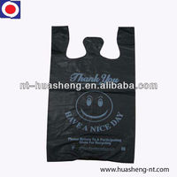 HDPE large plastic shopping bags