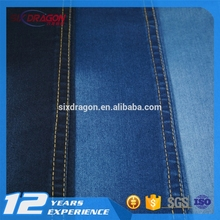 good quality cotton spandex lycra stretch blended printed jean denim fabric