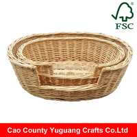 Yuguang Crafts Unfinished Wicker Pet House