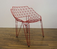 wire mesh chair,Continuous Wire Chair living room chair