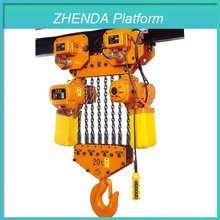 Manufacturer Price Decration Hight Quality Electrec Hoist with Hanging Work Station