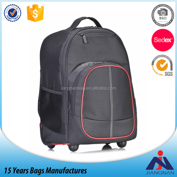Rolling Backpack for Laptops up to 16-Inch Wheeled backpack for computer