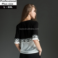 wholesale high quality with low price fat women 7xl dresses plus size clothing