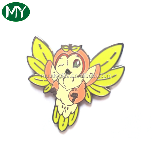 Custom Cute Cartoon Free Design Hard Enamel Lapel Pin