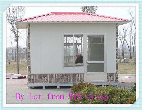 Economical Small wooden guard house tool house Timber Cabins small prefab house