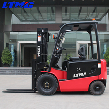 Hot sale 48v rechargeable electric forklift 2.5 ton battery fork lift price