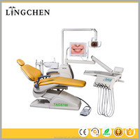 ISO and CE approved European style New design new operation tray movable dental chair unit