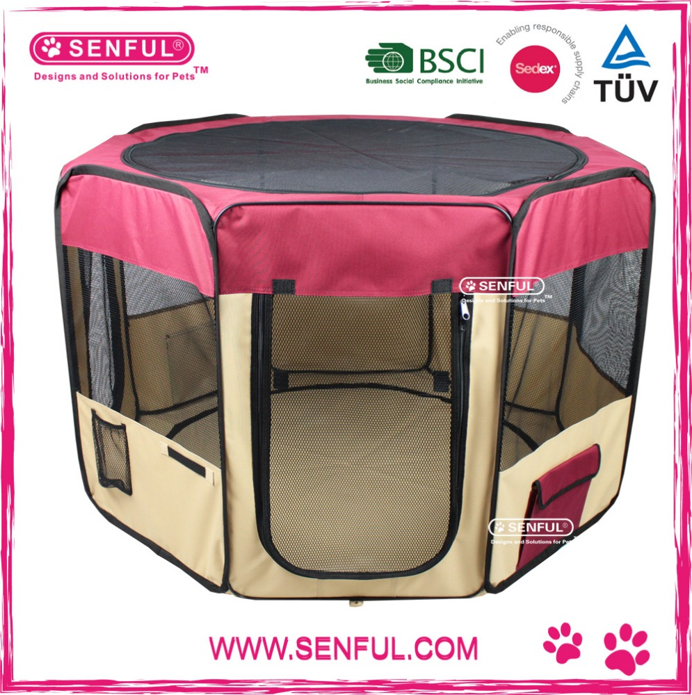 Portable Foldable Pet Dog Cat Playpen Puppy Playpen