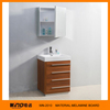 Ply wood livingroom mirror cabinets solid wood furniture cabinet modern bathroom wooden cabinet vanity WINO