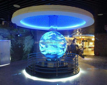 Museum display!! Big magnetic fly magnetic levitating rotating globe,super size map globe & large/big magnetic levitation globe