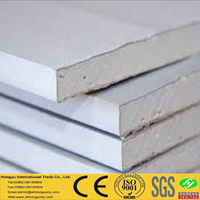 low price gypsum fire resistant & water proof garage wall panel