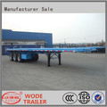 High Quality 40ft flatbed container carrier semi trailer