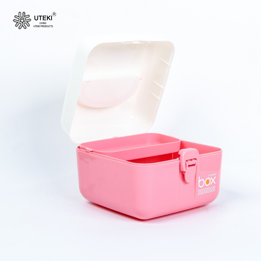 Eco-Friendly waterproof multipurpose colorful plastic storage case