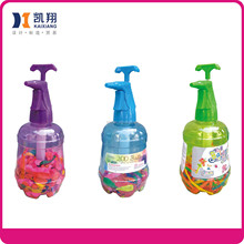 Plastic water balloon pumper aire pressure sprayer