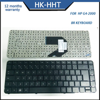 BR Black color laptop keyboards for HP G4-2000