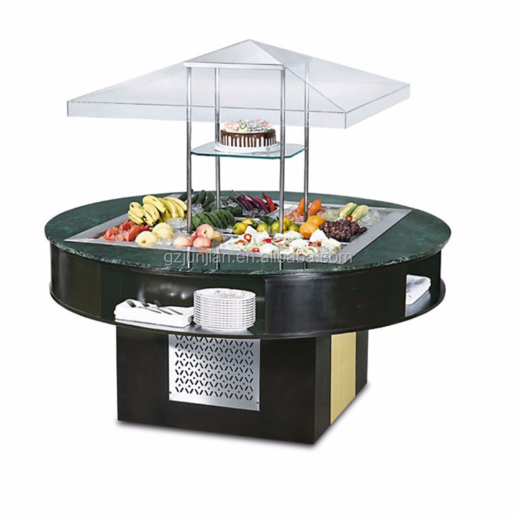 Commercial used bar buffet table for sale for restaurant for Table bar cuisine americaine
