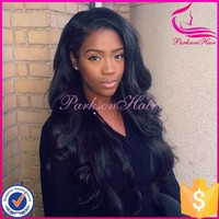 Wholesale Unprocessed Virgin Color 24 Inches Unprocessed Body Wave Full Lace Brazilian Human Hair Wig with Baby Hair