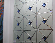 High-end Glass Spell Mirror decorative mirror Background walls