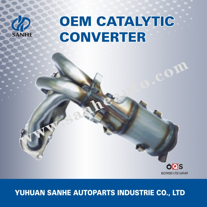Automobile Exhaust Pipe,High Precision Three Way Catalytic Converter Price