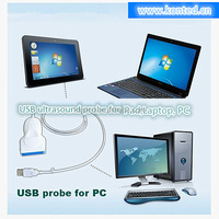Usb Ultrasound Probe Digital Laptop Ultrasound Scanner With Windows Xp Or Windows 7/8