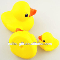 Yellow Soft Rubber Toy Duck