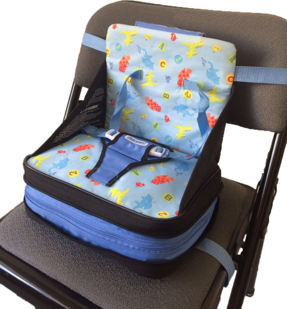 Hot selling air inflatable traveling and dinning booster seat